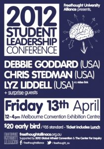 Student-Leadership-Atheism-Conference-Australia-2012