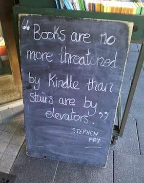 Books quote by Stephen Fry